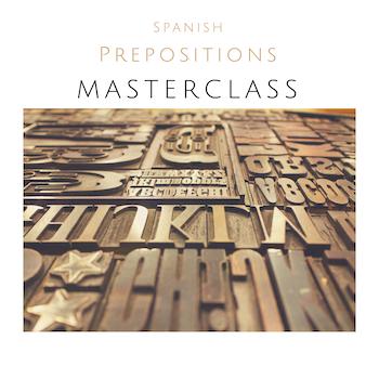 Prepositions Masterclass